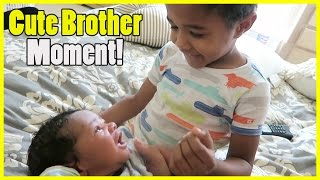 CUTE BROTHER MOMENT!