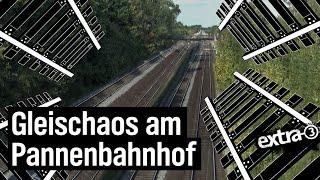 Realer Irrsinn: Pannenbahnhof von Ahrensburg