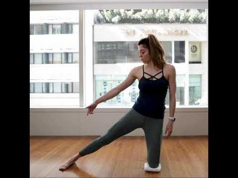 【hip opening yoga  gate pose】  youtube
