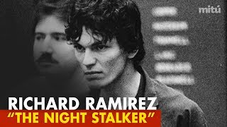 """Don't miss this chilling profile of richard ramirez, the notorious serial killer known as """"the night stalker"""". viewer discretion advised--want us to create m..."""
