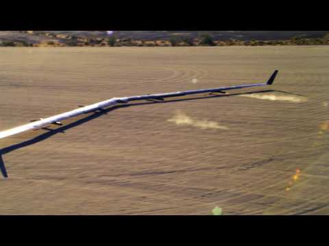 Facebook Aquila Second Flight Landing
