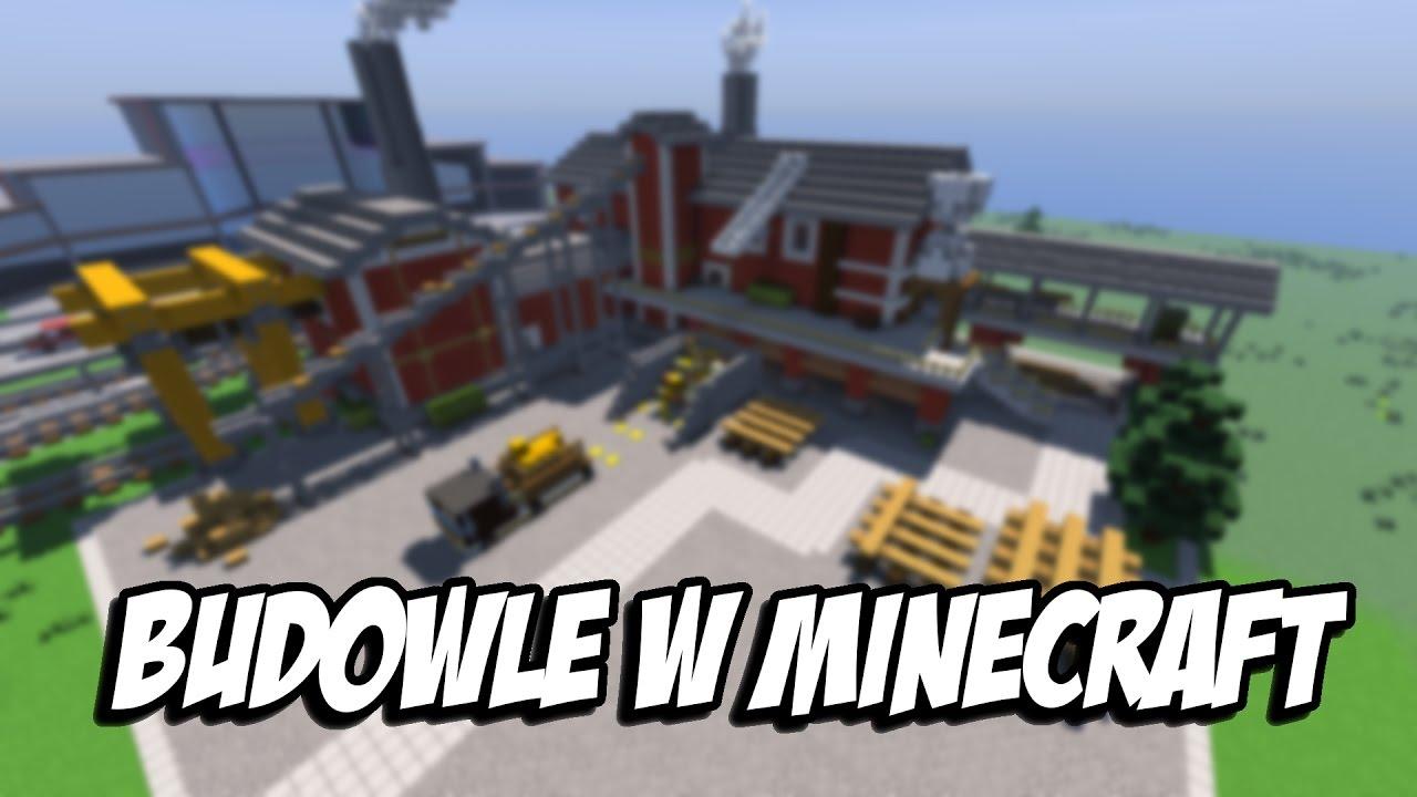 Budowle w Minecraft #008 [Projekt Miasto] - Tartak