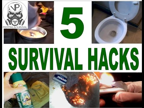 SHTF Prepping - 5 Easy Survival Hacks That Everyone Should Know!