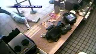 Robber Beat Down at Dunkin Donuts!
