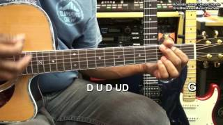 I Will Survive Disco Style Acoustic Guitar Chords & Strumming Tutorial EricBlackmonMusicHD YouTube