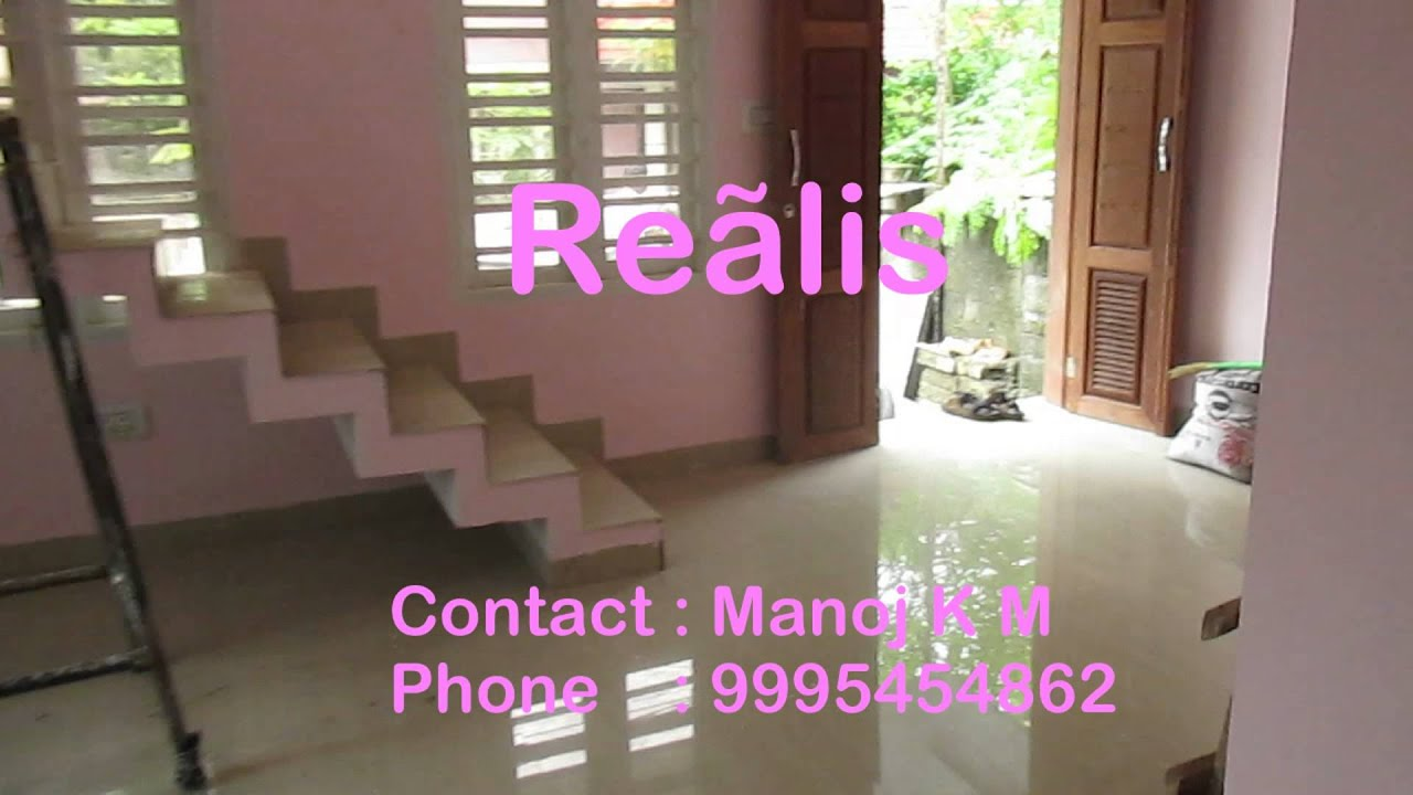 3bhk 1000 sqft ind house in 2 cents at elamakkara 48 lakhs for House in 2 cent