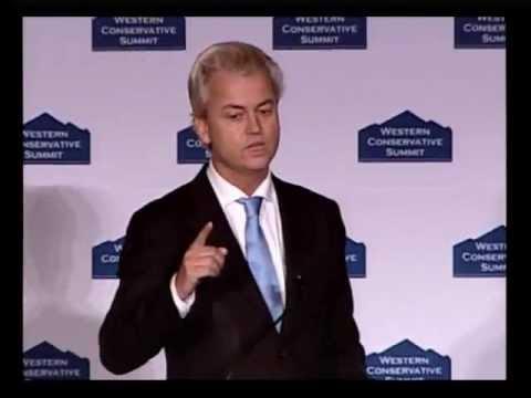 Geert Wilders - Western Conservative Summit 2012