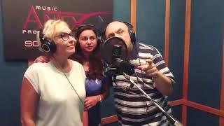 """""""Просто заходи ко мне во сне"""" - Яна и её друзья в студии звукозаписи ANTEX"""