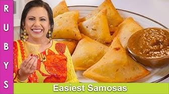 No-Fail Samosas Folding, Freezing & Storage Unique Technique for Ramadan Recipe in Urdu Hindi - RKK