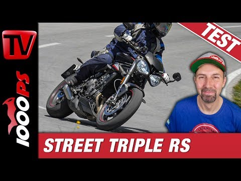 Triumph Street Triple RS Test in den Alpen