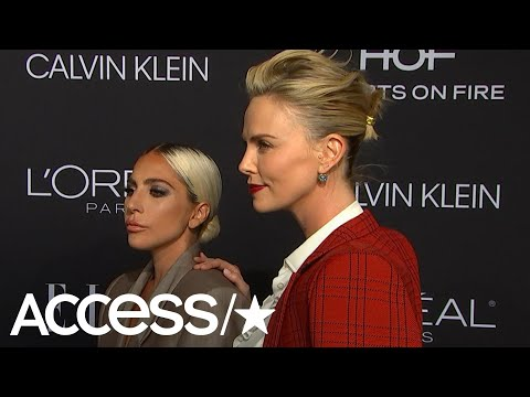 Lady Gaga Told Charlize Theron's Daughter She Knows The Tooth Fairy! | Access