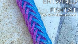 ENTWINED FISHTAIL Hook Only bracelet tutorial