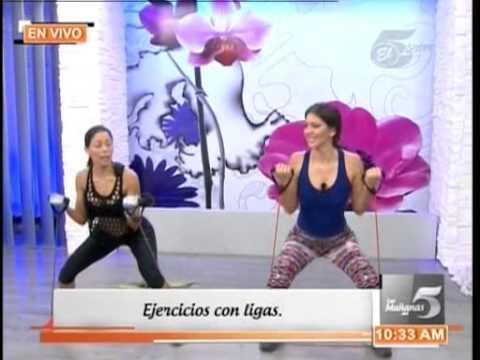 tvc-las-mañanas-del-5:-rutina-de-ejercicios-con-liga-o-banda-elástica
