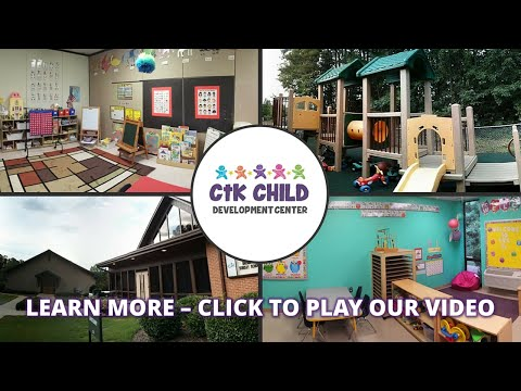 Preschool Hoover AL - Mother's Day Out, Extended Care CTK Child Development Center