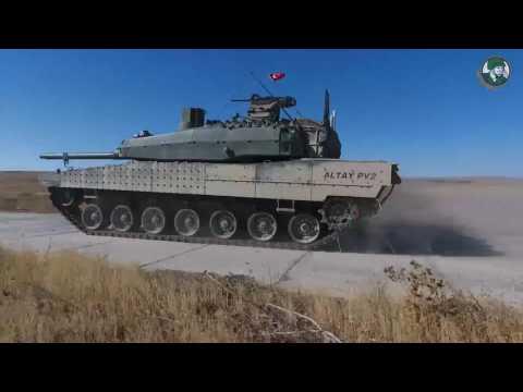 Altay AHT Urban Operations Main Battle Tank Otokar Turkey Turkish defense industry IDEF 2017