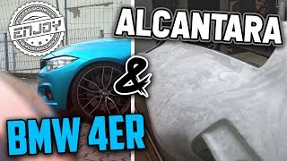 Enjoy Fahrzeugfolierung | Die Alcantara Folie & BMW 4er!