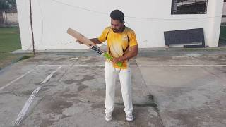 This vdeo is about about basics of cricket batting. how to grip a b...