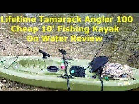 Lifetime Tamarack Angler 100 10' Sit on Top Kayak Review