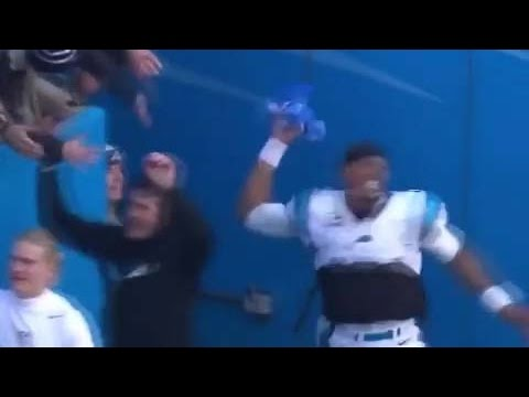 Cam Newton Trashes Seahawks Fan