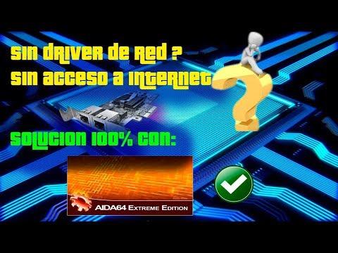 Descarga Controladores, Sin Acceso A Internet - Aida64