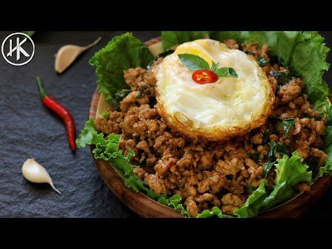 Keto Thai Basil Chicken (Pad Krapow Gai) | ผัดกระเพราไก่ | Keto Recipes | Headbanger's Kitchen