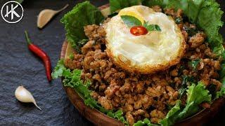 Keto Thai Basil Chicken | ผัดกระเพราไก่ | Keto Recipes | Headbanger's Kitchen