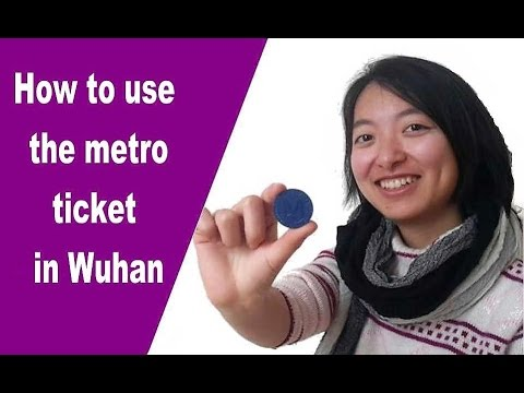 wuhan metro: How to enter and exit the station with the one way ticket