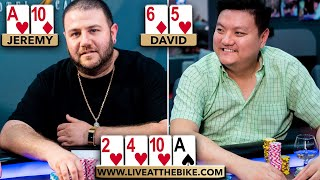 He's OWNING the Table then DISASTER HITS ♠ Live at the Bike!