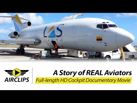 1965 Boeing 727-100 ULTIMATE COCKPIT MOVIE, ex Pan Am, MUST SEE [AirClips full flight series]