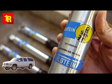 BEST BILSTEIN 5100 FRONT SHOCK UPGRADE EVER!!