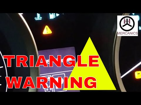 Is That Triangle Warning Light Irritate You Let See Why Its Comes