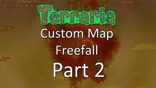 Terraria: Freefall — Part 2 — Stranded With Harpy Friends!