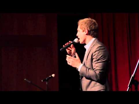 "Derek Klena singing ""Goodbye"" at ""Raise Your Voice: A Cabaret for a Cure"""