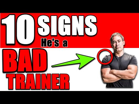 10 Signs I'm a BAD Personal Trainer