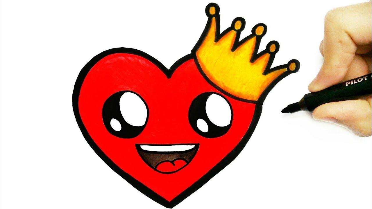 Como Desenhar Um Coracao How To Draw A Heart Youtube
