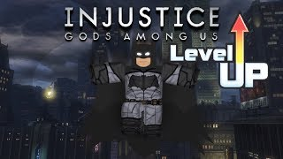 How to Level Up FAST in Injustice Online Adventure!! | ROBLOX | Part 1