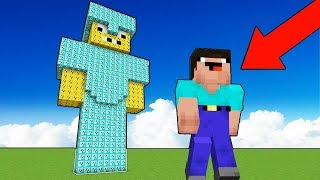 Minecraft NOOB vs PRO : LUCKY BLOCK STATUE BUILD CHALLENEG! Animation