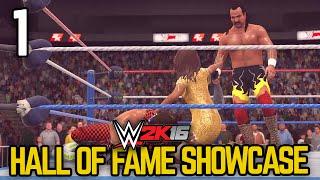 "WWE 2K16 - 2K Showcase - ""Hall of Fame"" Part 1 [WWE 2K16 Showcase Mode DLC Ep 1]"