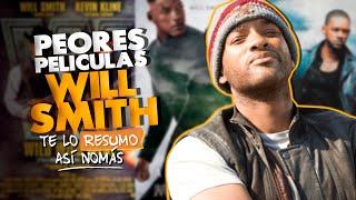 La 3 Peores Peliculas de Will Smith | #TeLoResumo
