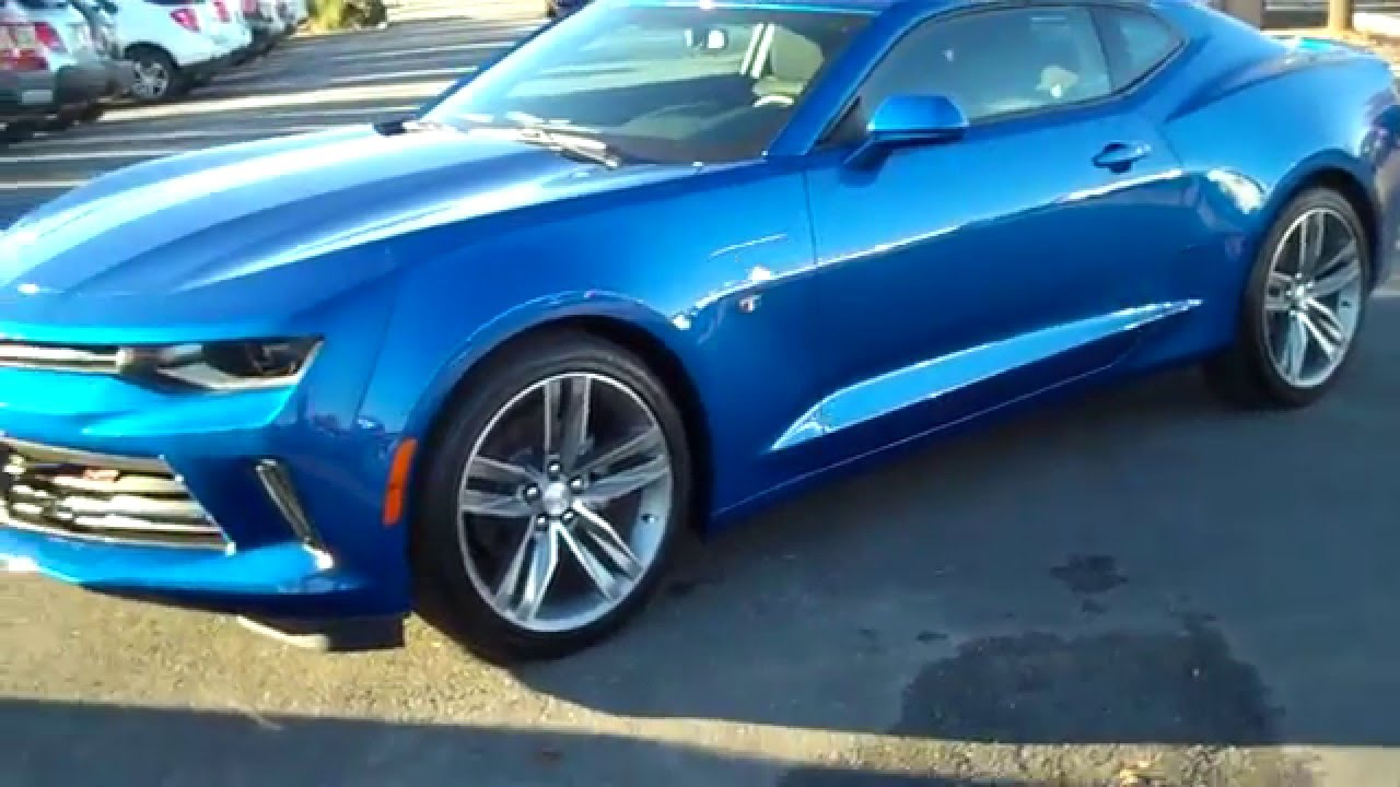 2016 Chevrolet Camaro Lt Rs Hyper Blue Burns Cadillac Rock Hill Sc Charlotte Nc You