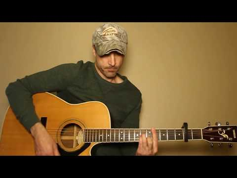 For The First Time - Darius Rucker - Guitar Lesson | Tutorial