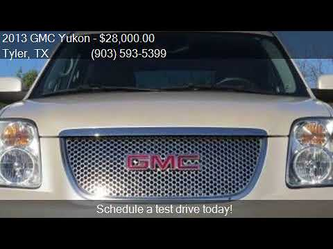 2013 GMC Yukon Denali 4x2 4dr SUV for sale in Tyler, TX 7570