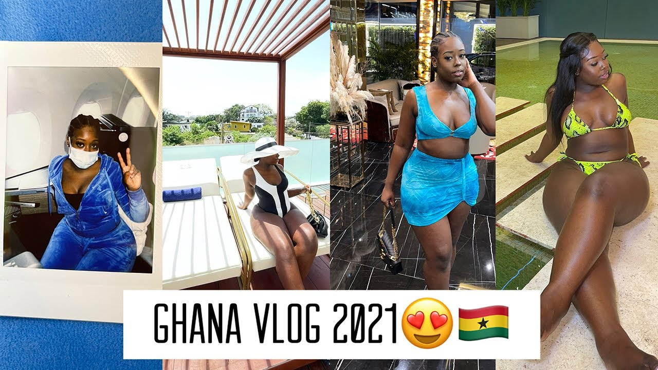 THE BEST GHANA VLOG OF 2021   FIRST TIME IN GHANA FOR 5 DAYS !!!   I HAD A PEANUT ATTACK SMH