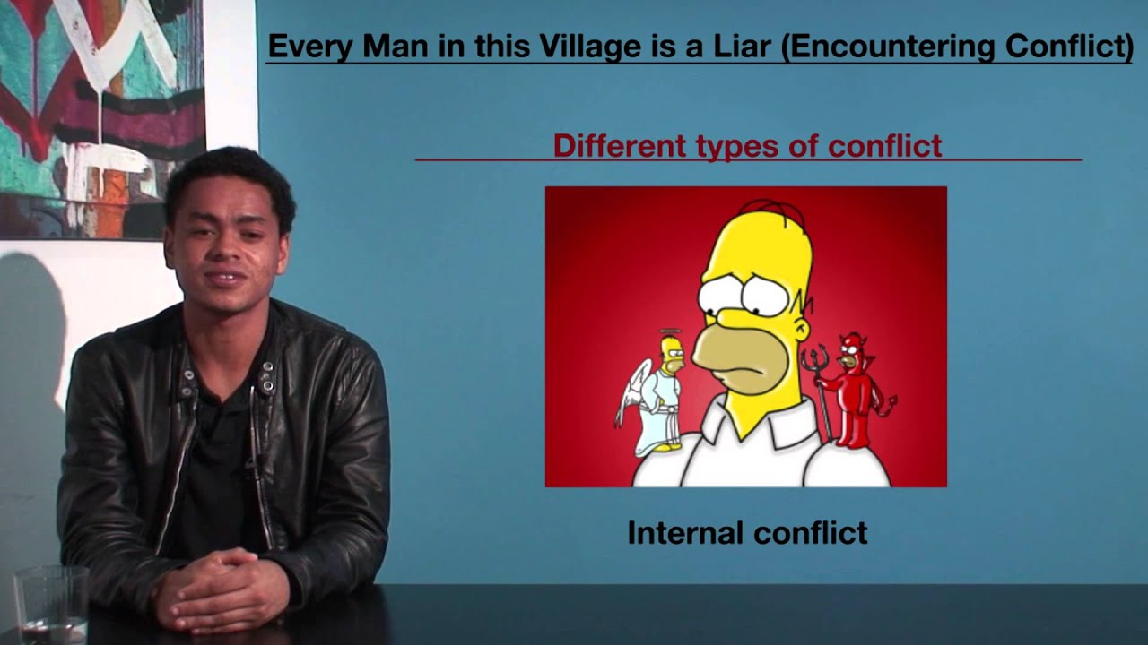 vce english every man in this village is a liar encountering vce english every man in this village is a liar encountering conflict