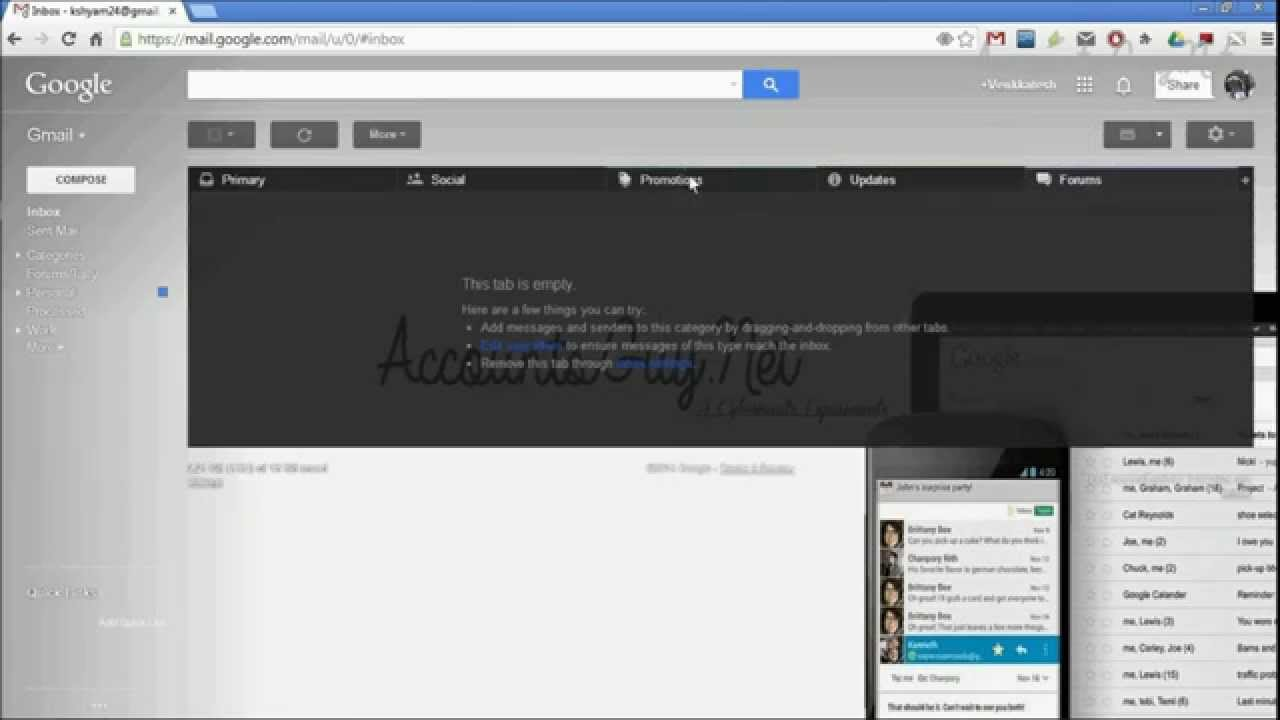 Custom themes for gmail - Creating A Custom Theme In Gmail