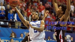 Ryan Harrow Highlights vs. ULL (37 Points)