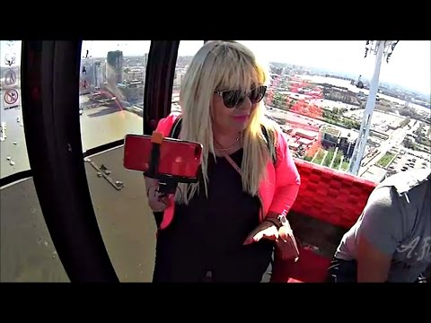 UMRLA sam od Straha sa Irenom Emirates Cable Cars London Liv