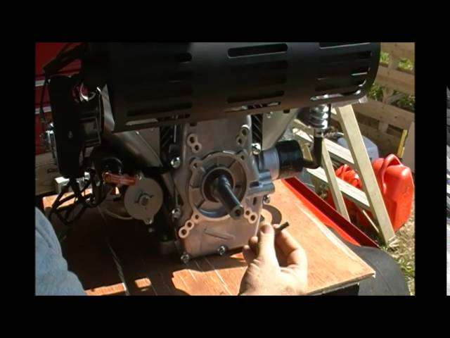 22 HP 670cc Predator engine Review FIRST start up Harbor Freight