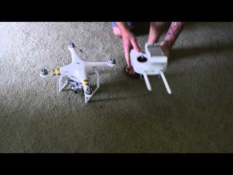 Phantom 3 Professional Manual Link With RC and Aircraft