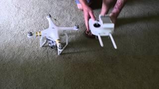Фантом 3 професіонал інструкція по посиланню З і RC літаки